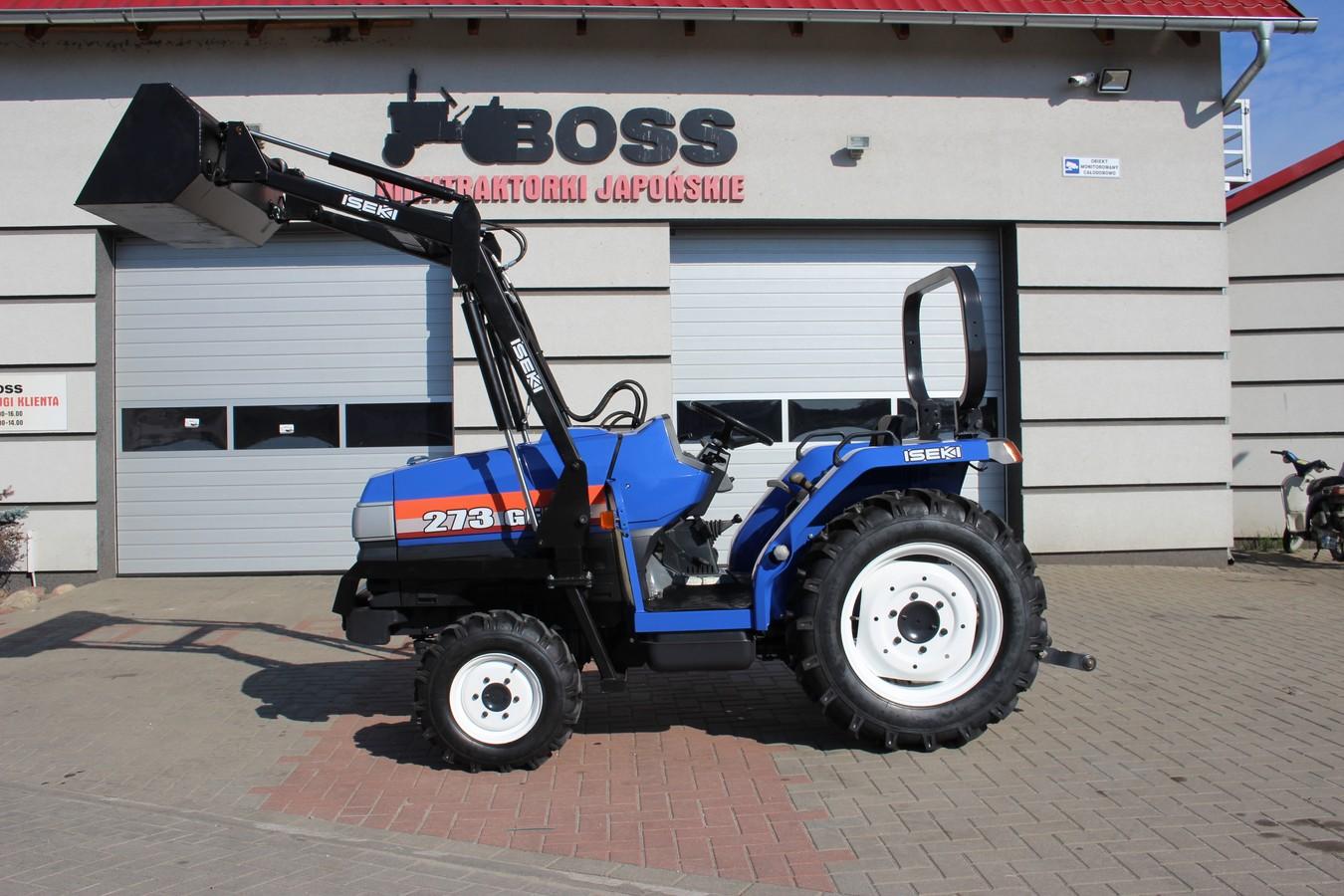 01 Traktorek ISEKI GEAS TG273FDT NOWY MODEL