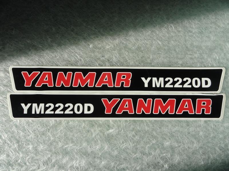 Naklejka na mini traktorek YANMAR YM2220D