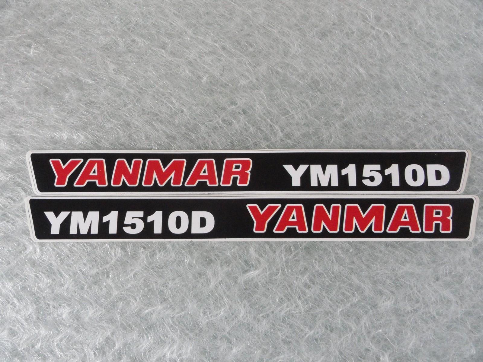 Naklejka na mini traktorek YANMAR YM1510D