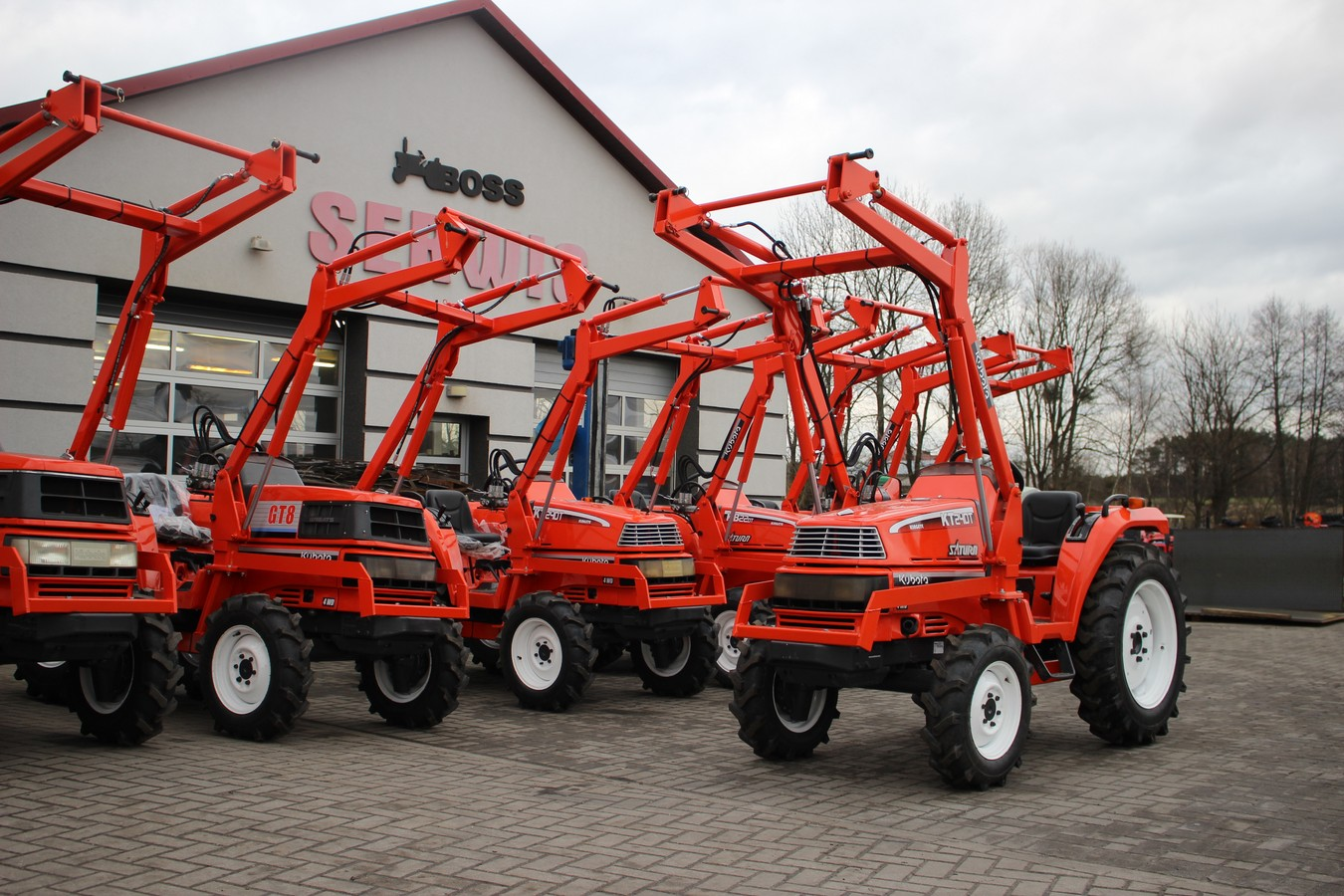 Mini traktorek KUBOTA SATURN