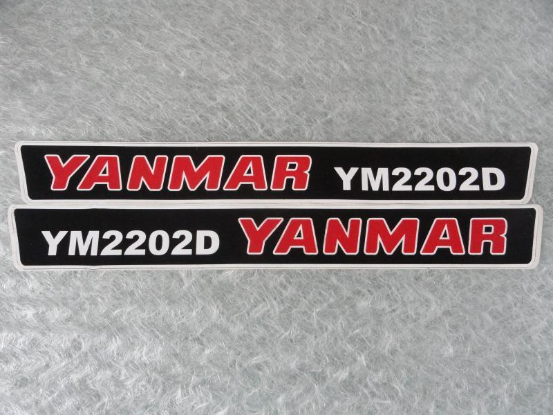 Naklejka do mini traktorka YANMAR YM2202D