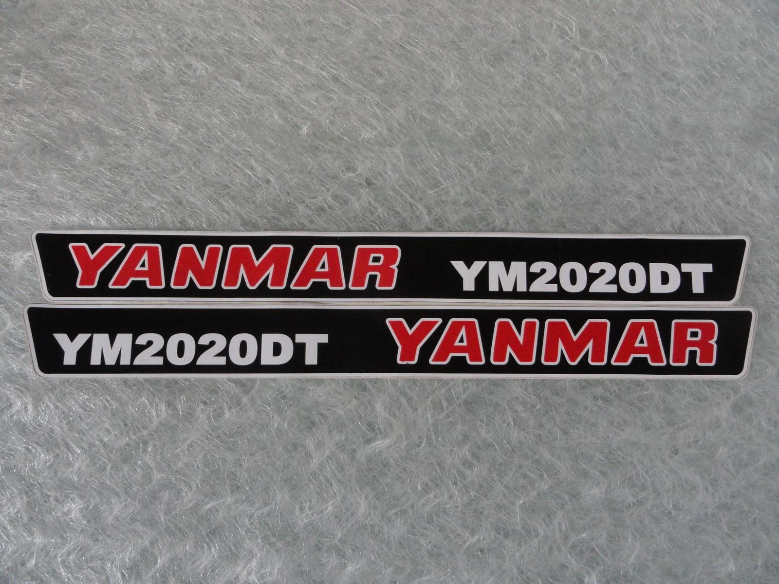Naklejka na mini traktorek YANMAR YM2020DT
