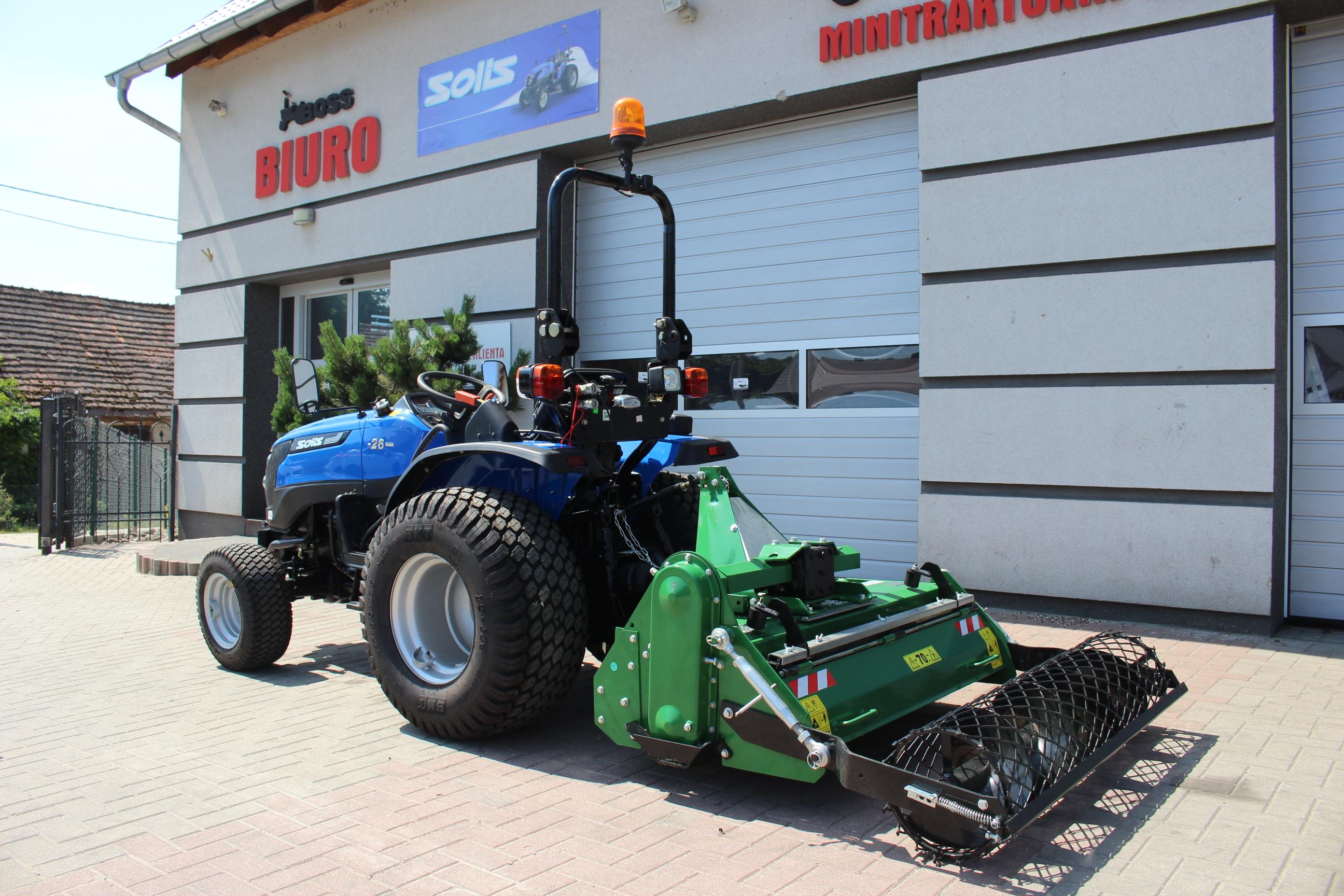 Solis 26 4WD + Agregat uprawowy SB125