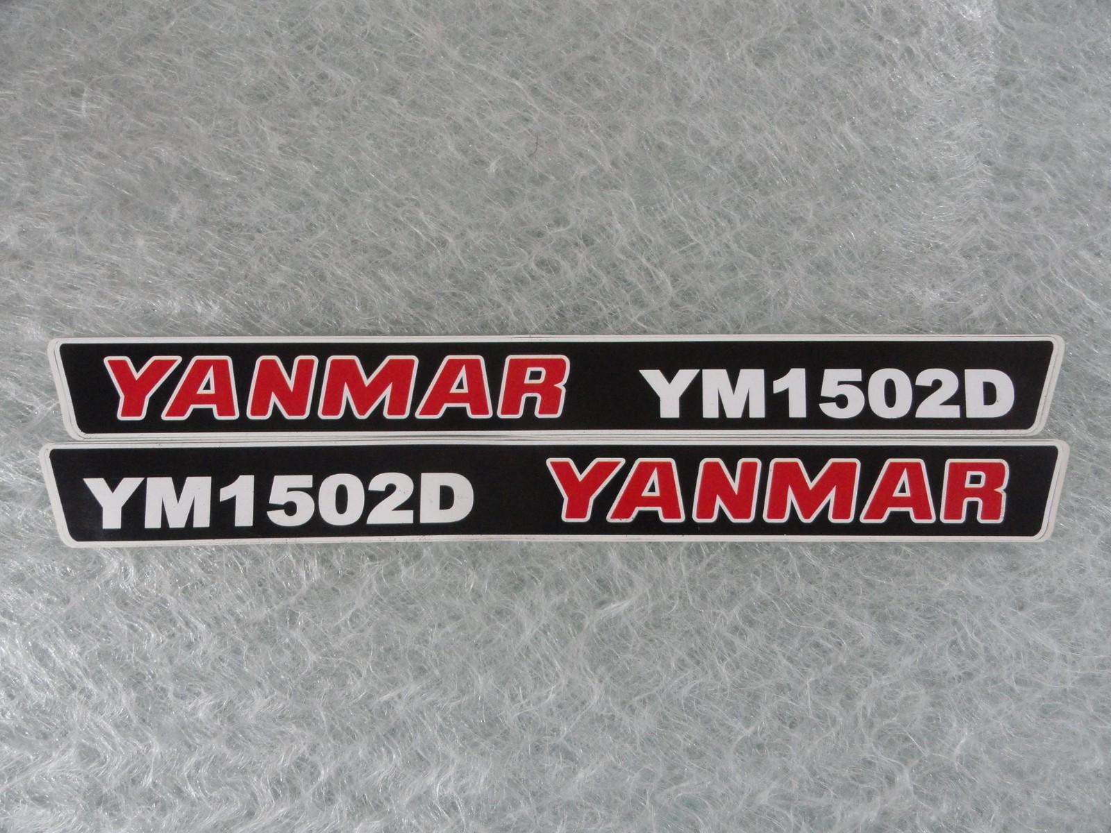 Naklejka na mini traktorek YANMAR YM1502D